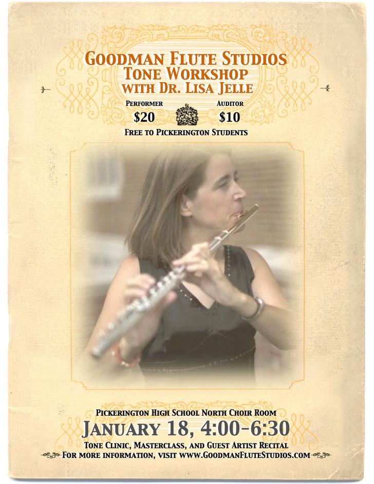 Goodman Flute Studios Tone Workshop