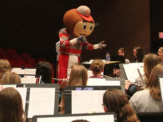 Barnes in OSU Honor Band