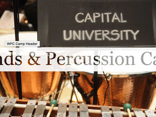 Velovski at Winds and Percussion Camp