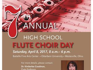 Otterbein Flute Choir Day