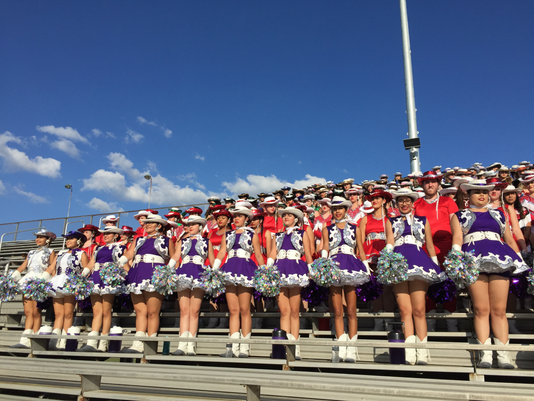 Performance with the Rangerettes