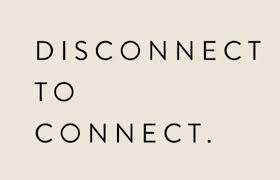 Disconnect, Power Off, Shut Down or Unplug to Reconnect Yourself.