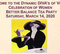 Annual Women's Tea Party Celebrating National Women;s Month - Pre COVID-19