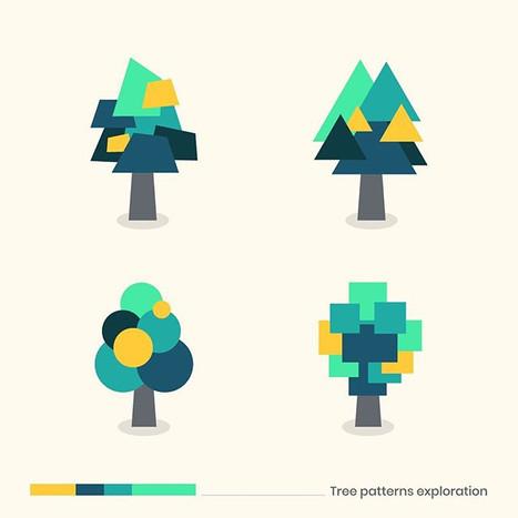 #tree patterns__#logomarket #logo #logos
