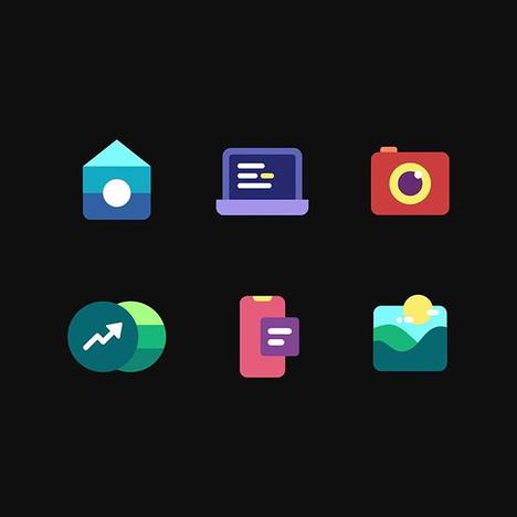 Sneak peak of few icons I'm currently wo