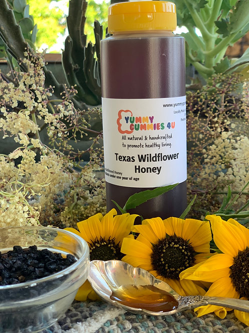 Raw Texas Wildflower Honey
