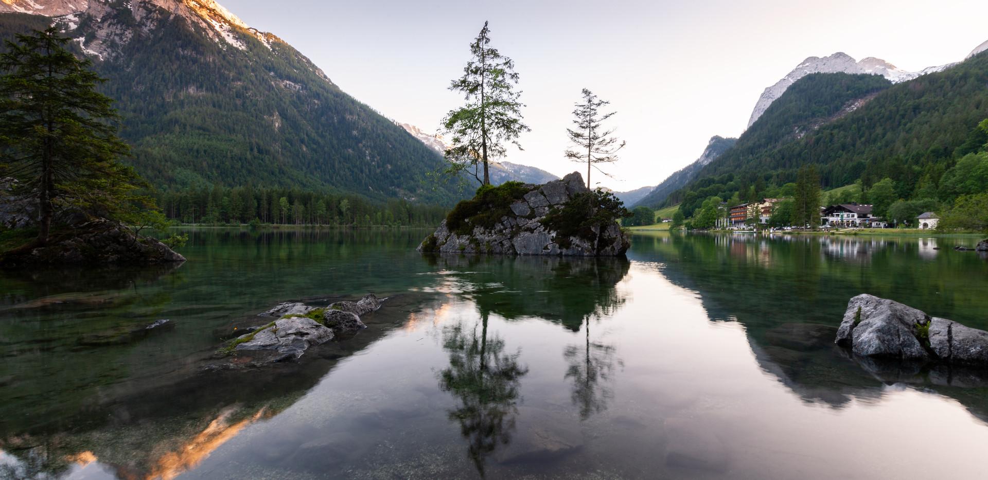 bergsee-sonnenuntergang-alpen
