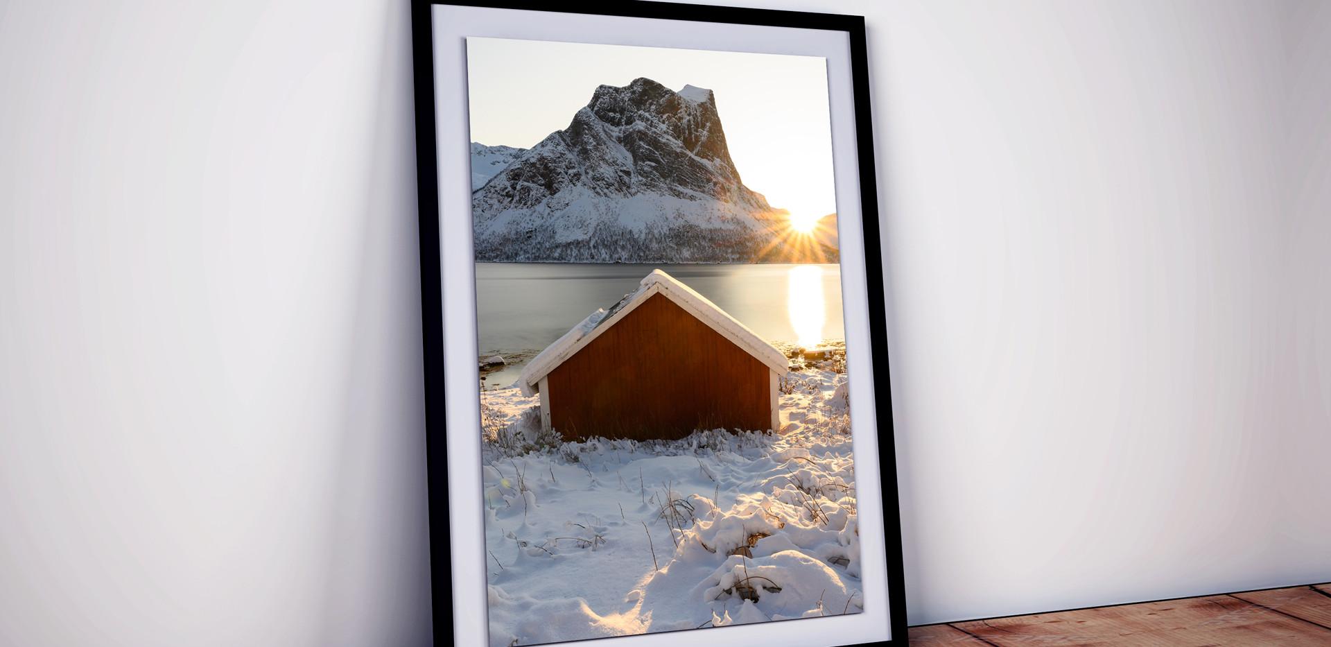 sonnenstern-fjord-hütte-sonne-norwegen-