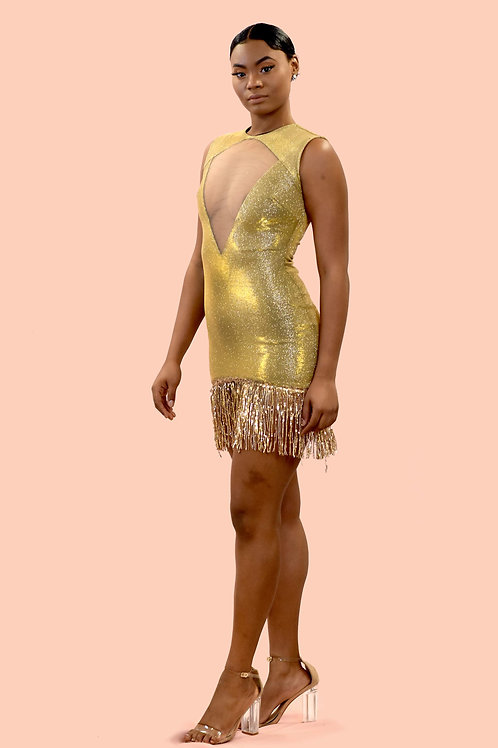 Aurum Gold Dress