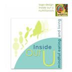 inside out U - dietician's logo