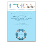 mitchell's 'pool party' invitation