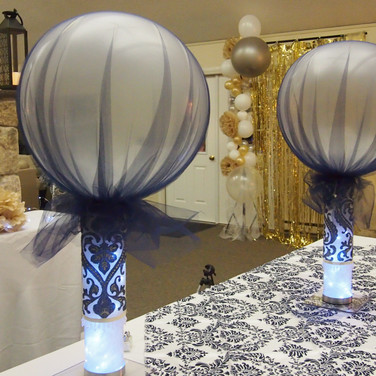 'jeans casual' denim wedding centerpieces