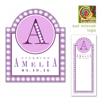 amelia's 'the neon lights are bright on broadway' logo