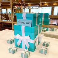 ava's 'fave color' bat mitzvah envelope / gift box