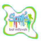 paint drips theme logo