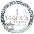 rachel's 'icy cool sparkle' logo