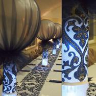'jeans casual' denim wedding decor