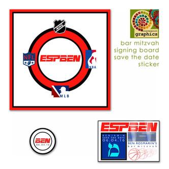 esp'ben' signing board & logo