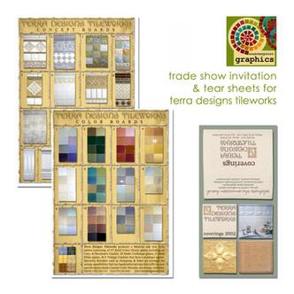 terra designs tileworks tear sheets