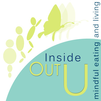 inside out 'U' dietician's logo