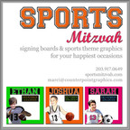 sports mitzvah - varsity sports signing boards
