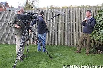 TV film work nigel marven documentary venomous snake cobra reptile lizard wildlife