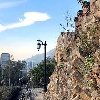 Ruta Geologica por Cerro Santa Lucia