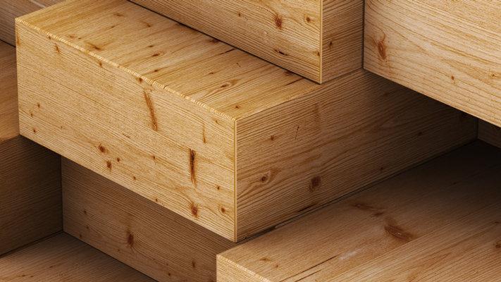 Formaldehydevrije houtplaten of massiefhout