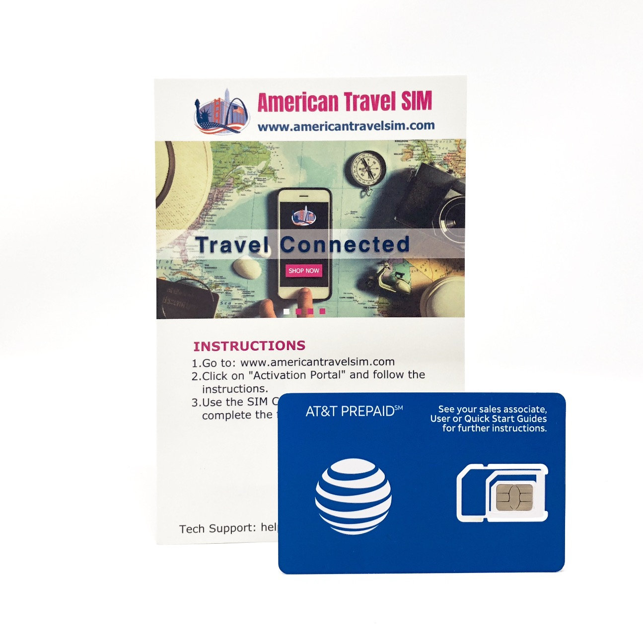 At T Unlimited Usa Mexico And Canada Data Calls And Text Americantravelsim