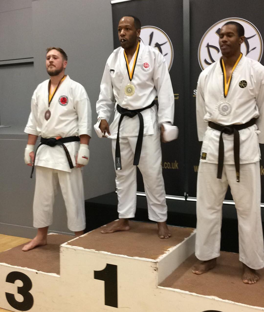 Kumite Bronze for Robin