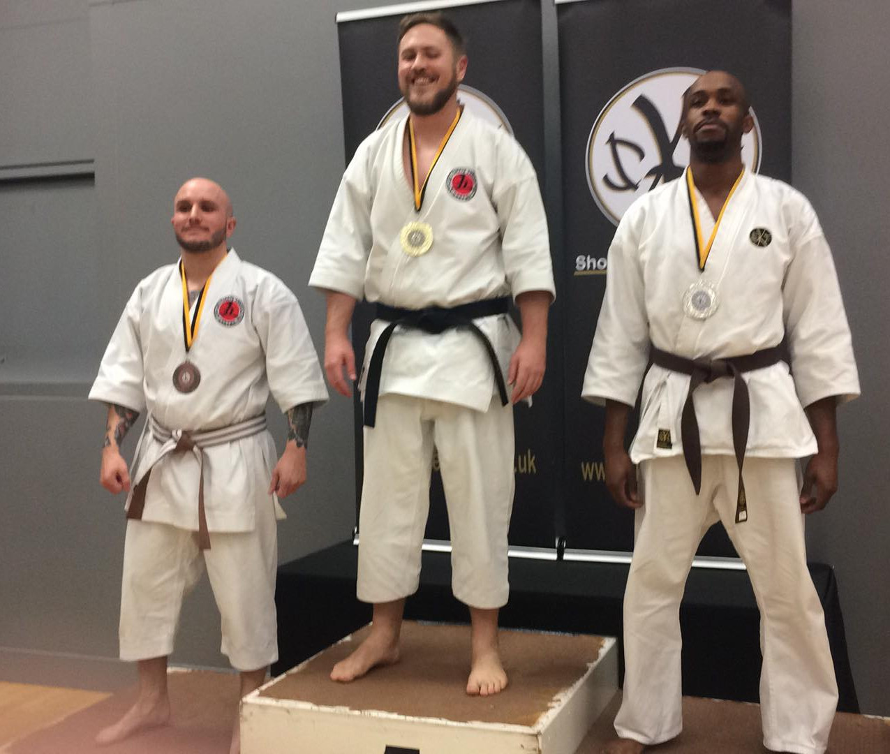 Gold & Bronze for Robin and Will