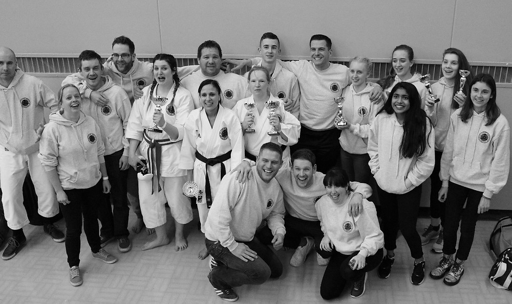 The First Applied Karate Association Squad
