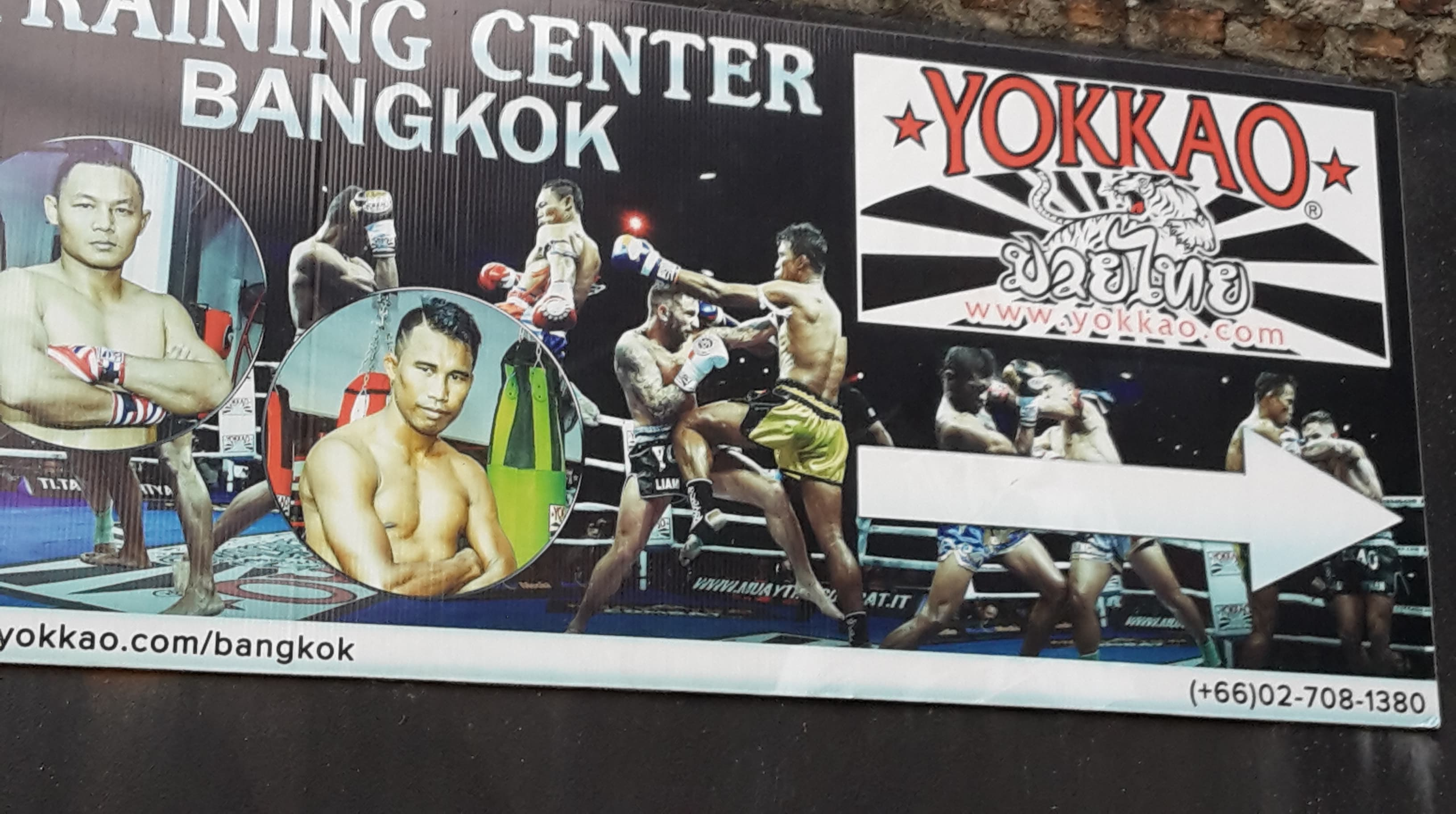 Yokkao Gym Sign