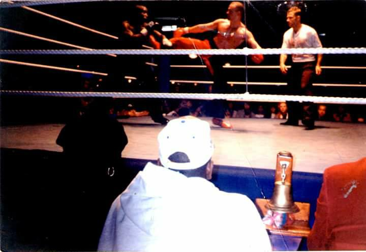 Neil - kickboxing fight 2 - OLD