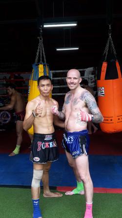 Mark & Trainer - Yokkao 1