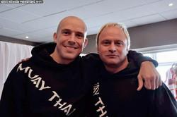 Mark and Neil Bromance