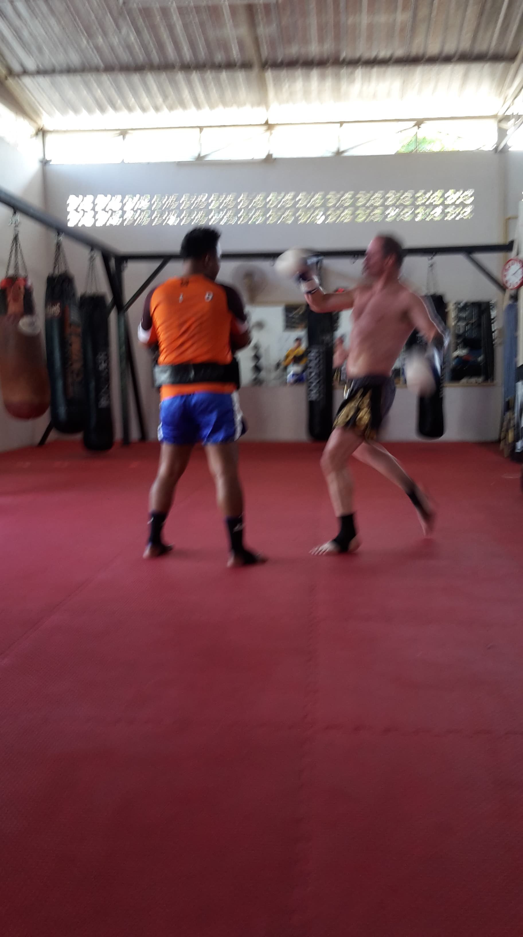 Neil pad work - Yokkao