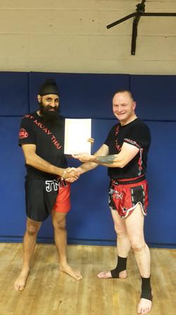 Grading Certificate