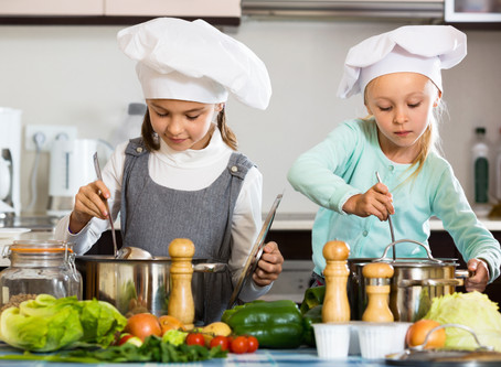 Creative Cooking Class for kids