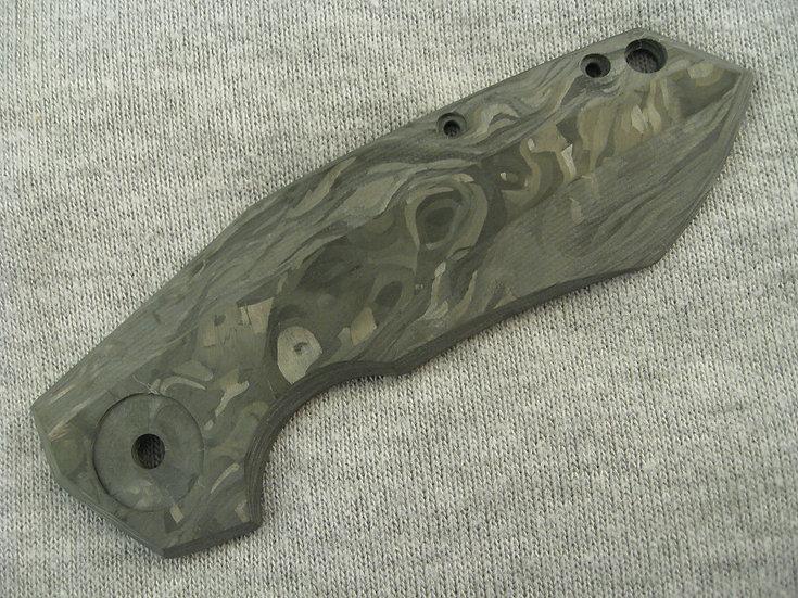 ZT 0456 Marbled Carbon Fiber Custom Scale