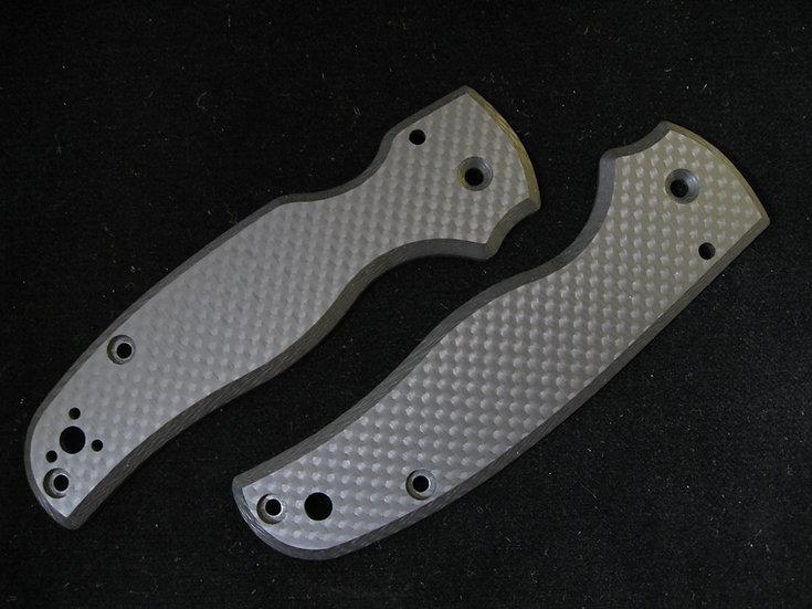 Spyderco Shaman Carbon Fiber Custom Scales
