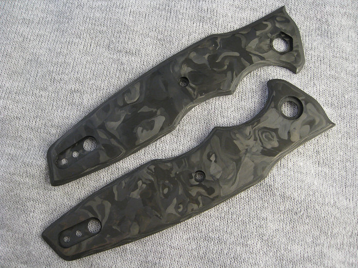 ZT 0393 Marbled Carbon Fiber Custom Overlays