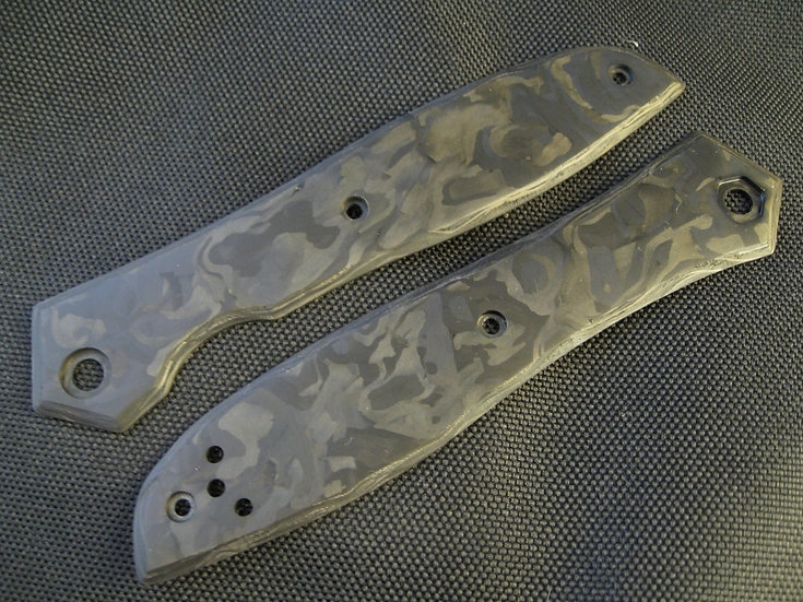 ZT 0640 Marbled Carbon Fiber Custom Overlays