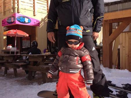 le snowboard c'est cet hiver a partir de 4 ans