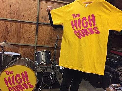 THE HIGH CURBS LOGO TEE