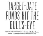Barron's Target Date Funds Article 401K.