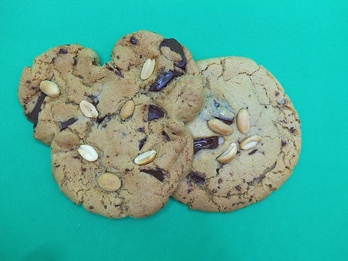 2X Chocolate and Peanut Cookies