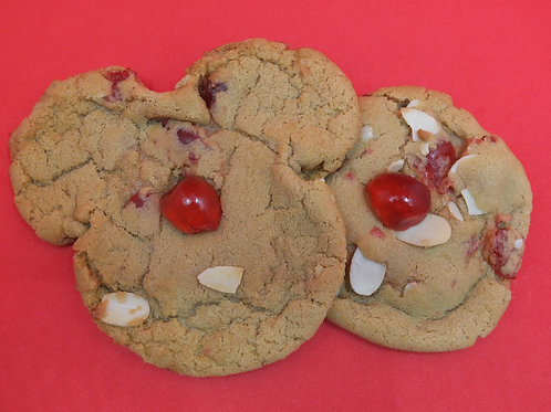 2X Cherry Bakewell Cookies