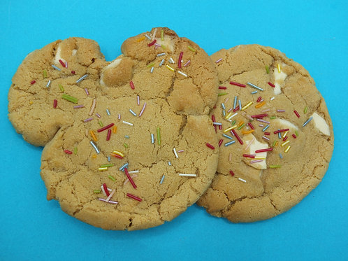 2X Birthday Cake Cookies