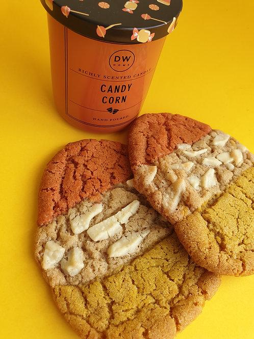 2x Candy Corn Cookies